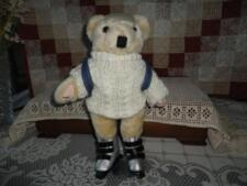 Roller Blade Bear Knitted Sweater & Backpack RARE