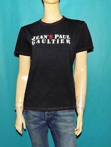 tee-shirts JEAN PAUL GAULTIER en coton/élasthanne noir taille L