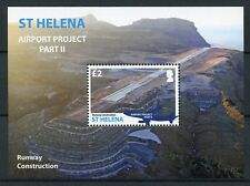 St Helena 2016 MNH Airport Project Pt II Runway 1v S/S Aviation Stamps