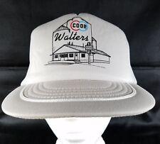 Coop Grain Elevator Snapback Trucker Hat Walters OK Cap Rural Oklahoma OSFA Vtg
