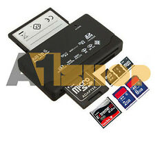 Tutto in uno esterno USB MEMORY CARD READER SD SDHC MINI MICRO M2 MMC XD CF MS