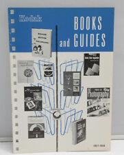 Kodak Books Guides Sales Pamphlet L-8 A1-642 1957-58 Photography - VINTAGE B115
