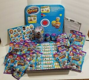 LOT Mighty Beanz Series 1 Moose party Kit for 20+ birthday games sticker poster
