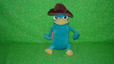 """Walt Disney Parks Phineas and Ferb AGENT PERRY Standing Plush 10"""" Stuffed Animal"""