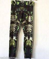 NWT!!Helmut Lang Cicada Print Reflex Leggings Green Lizard Multi Pants/Legging M