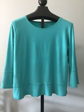 Simpli the Best Womens Top Made in Canada Size 16  Shirt Flared 3/4 Sleeves