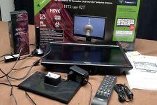 Camping LED LCD TV Fernseher Xoro HTL 1550 DVB-T2 USB 12V 230V 15,6 Zoll