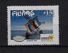 "Philippines: 1998; Scott 2530, Expo Lisbos 98, MNH, ""Specimen"" EBPH03"