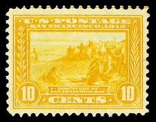 Scott 400 1913 10c Panama-Pacific Perforated 12 Issue Unused VF NG Cat $110