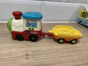Vtech Toot Toot Motorised Train And Trailer - All in working order
