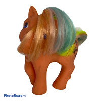 🍊 1984 G1 Vintage My Little Pony Flutterbye Rainbow Pegasus Ponies Orange J8