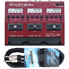 Zoom b3n multi-efecto dispositivo para Bass + cable