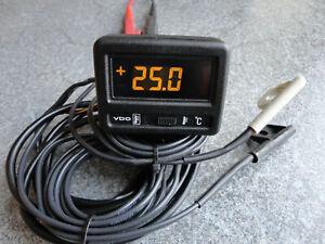 VDO LCD Innen-/Außenthermometer Old-/Youngtimer evtl. VW Golf GTI, Audi, Porsche