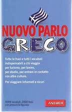 Dizionario Nuovo parlo greco. Manuale di conversazione-Vallardi-Nuovo in Offerta