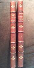 LÉON ALÈGRE : NOTICES BIOGRAPHIQUES DU GARD (CANTON DE BAGNOLS) - 1880 2 VOLUMES