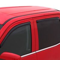 For Ford Focus 12-18 In-Channel Ventvisor Smoke Front /& Rear Window Deflectors