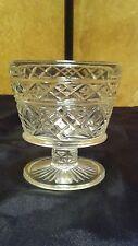 Big Top Peanut Butter Juice Glass Hazel Atlas Glass Co. Early American Gothic