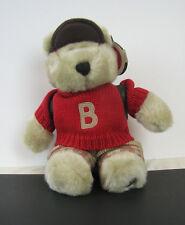Starbucks 21st Edition 2002 Back to School Boy Bearista Bear Backpack Paper
