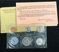 1961 US Mint Silver Proof Set with COA BEAUTIFUL SET.