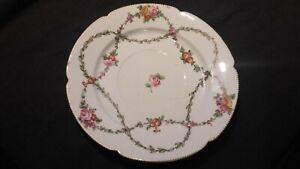 Plat porcelaine de Boissette XVIIIe