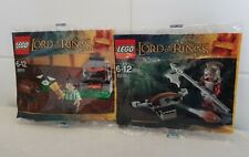 Lego The Lord of the Rings Urak-hai polybag 30211 & 30210  NEW SEALED RARE 2012