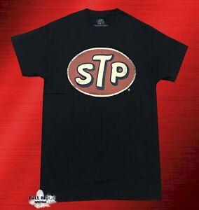 New STP Oil Vintage Black Men's T-Shirt