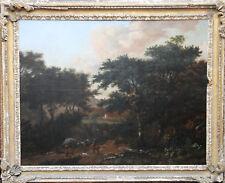 OLD MASTER DUTCH JAN WIJNANTS LANDSCAPE HORSES OIL PAINTING ART HUGE 1635-1684