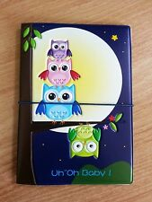 Owl1 Travel Passport Holder Cover Case Bag Wallet Ticket Card Document Protector