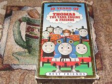 ~10 YEARS OF THOMAS THE TANK ENGINE & BEST FRIENDS VHS VIDEO COLLECTOR'S EDITION
