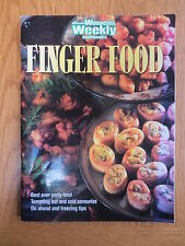 Cook Book FINGER FOOD Australian Women's Weekly Party Recipes Cookery Cooking