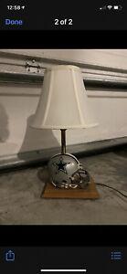 Dallas Cowboys vintage lamp