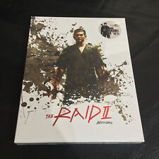 The Raid II Berandal Blu-ray Steelbook w/ Full Slip KimchiDVD #800/900 | White