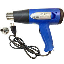 750/1500 Watt Adjustable Hot Air Heat Gun - Electriduct