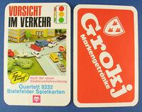 BIELEFELDER Quartett - VORSICHT IM VERKEHR - Brauerei Egerer Grokj - Kartenspiel