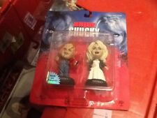 Sideshow Inc Little Big Heads Bride Of Chucky 2 Pack Figure Set