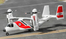 5 CH Coast Guard VTOL V-22 Osprey RC Warbird Airplane RTF
