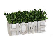 Home Faux Boxwood arrangement Farmhouse Decor