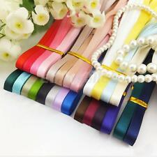 24pcs Mixed Colour Grosgrain Ribbon For Gift Bow Crafts DIY Decor 6mm 1Yd