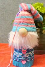 Gnome 11 Inches Handmade With Sock One of a Kind