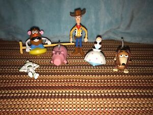 TOY STORY Lot Of 6 Happy Meal Figures