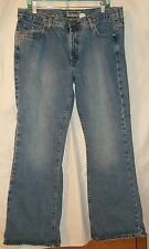 OLD NAVY BRAND FLARE LOW WAIST BLUE JEANS WOMEN'S SIZE 16