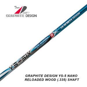 GRAPHITE DESIGN YS NANO RELOADED WOOD (.335) SHAFT