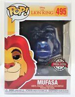 Funko Pop Spirit Mufasa # 495 The Lion King Vinyl Figure Brand New
