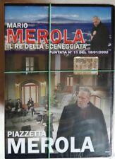 PIAZZETTA MEROLA MARIO MEROLA IL RE DELLA SCENEGGIATA 11 DVD