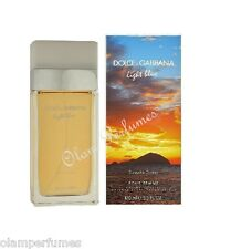 Dolce & Gabbana Light Blue Sunset in Salina For Women Edt Spray 3.4oz 100ml