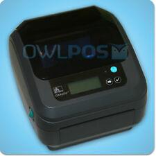 Zebra GX420D 802.11 Wireless Wifi Themal Barcode Shipping Label Printer + LCD GX