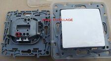 LEGRAND NILOE,Lot de 5 Poussoir Transformable en Va et Vient 664725 (664 725)