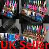 5 TIER 3 SIZE NAIL POLISH ACRYLIC DISPLAY STAND HOLDS APPROX20/30/60 BOTTLES