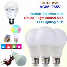 E27 LED Lámpara de Sensor de movimiento Auto Inteligente Cuerpo Humano Inducción Bombilla De Ahorro De Energía