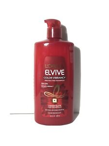L'Oreal Paris Elvive Color Protecting Shampoo for Color Treated Hair 28oz- JUMBO